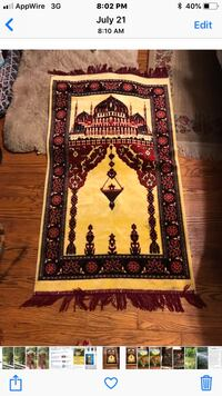 Persian vintage antique rug 26 mi