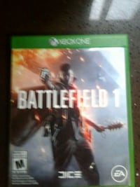 Battlefield 1 xbox one game case Chilliwack, V2P 1B9