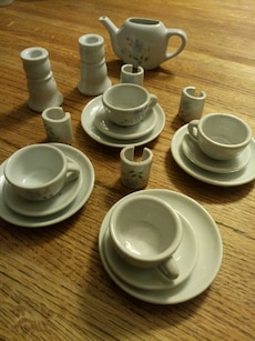 Ceramic Toy Tea Set In Wheaton Letgo