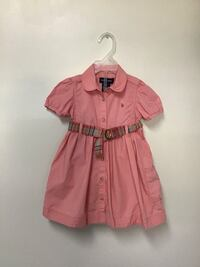 Girls RALPH LAUREN salmon cotton short sleeve dress w/ bottoms…18 mos. Manasquan, 08736
