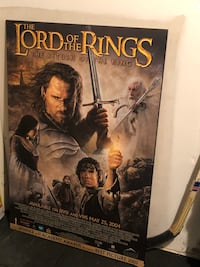 LORD OF THE RINGS RETURN OF THE KING MOVIE POSTER Toronto, M6M 1P3
