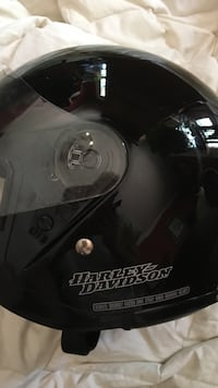 black and gray Harley-Davidson motorcycle helmet Madison, 39110