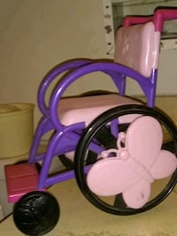 Doll wheelchair Culloden, 25510