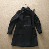 black button-up coat 1468 mi