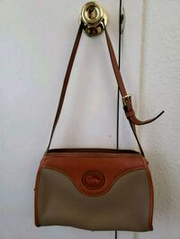 brown and black leather crossbody bag Concord, 94520