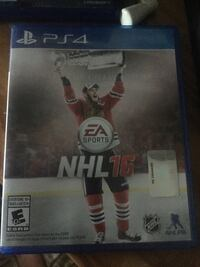 ps4 game case NHL 16