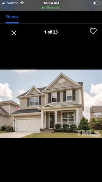 HOUSE For rent 4+BR 3.5BA Holly Springs