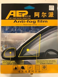 Anti fog and water film with installation Surrey, V3T 5P2