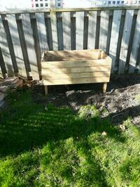 Garden boxes 12x24x36 made with old skides Hamilton, L8T 3R2