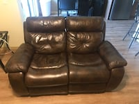 Leather Reclining Loveseat Tempe, 85282
