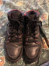 Pair of black leather shoes High Point, 27262