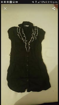 black and white floral sleeveless dress Greater Manchester, BL8 1UR