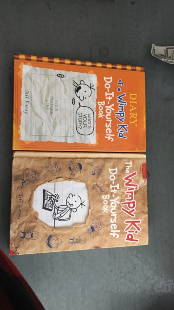 Used two diary of a wimpy kid books for sale in san jose letgo two diary of a wimpy kid books solutioingenieria Gallery