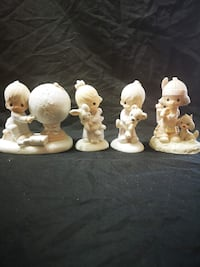 Vintage /collectibles Precious Moments Figurines 4 Yonkers