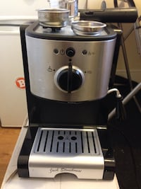 black and stainless steel jack stonehouse coffeemaker London, NW1 6XN