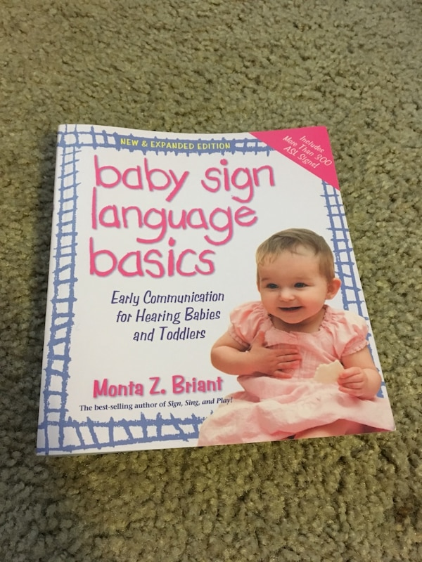 Used Baby Sign Language Basics By Monita Z Briant Book For Sale In