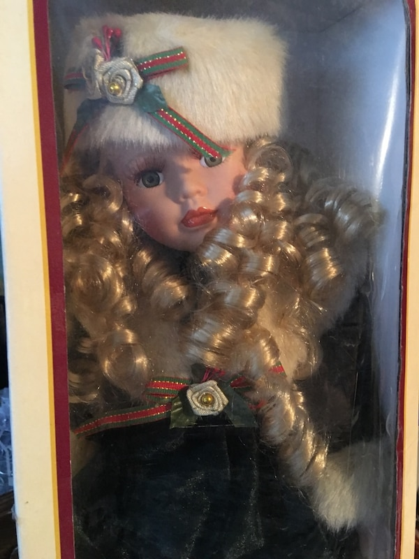 Genuine Porcelain Collectible Doll