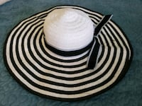 white and black striped cap Bowie, 20715