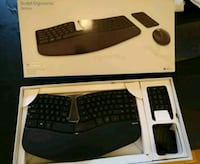 Microsoft Scult Ergonomic Keyboard. No Mouse Washington, 20008