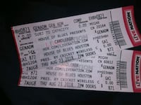 2 Candlebox Tickets live at the House of Blues  Houston, 77055