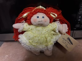Handmade cloth  doll/ not cabbage patch