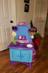 Doc McStuffins Clinic with real scrubs