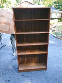 brown wooden 5-layer shelf Capitol Heights, 20743