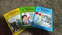 Real ghostbusters pop up books 1980s Colona, 61241