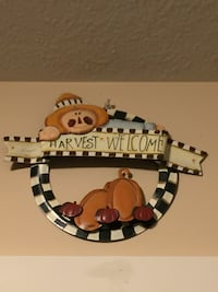 Harvest Time Metal Sign Fall/Thanksgiving welcome  619 mi