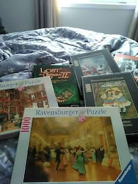 five assorted Ravensburger puzzles Rawdon, J0K 1S0
