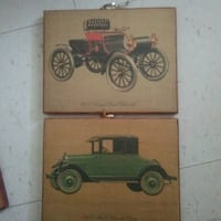 Wooden picture 1926 model Chevrolet coupe Winnipeg, R3B 2S7