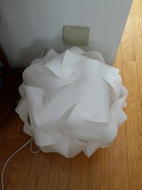 Large White Puzzle Lamp Cornwall, K6H 5Z1