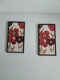 Flower wall pictures  Tulsa, 74136