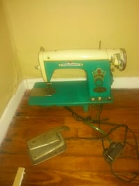 teal and white electric sewing machine Warrenton, 27589