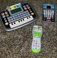 Learning tablet, phone, & remote