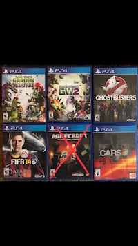 PS4 Games: perfect condition, no scratches. Buy all or buy separately Bakersfield, 93314