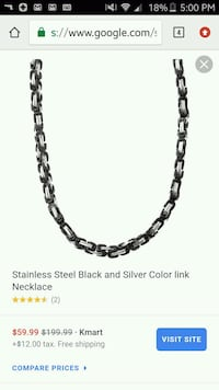 New mens necklace  Roanoke, 24013