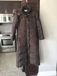 Michael Kors  full length winter coat, ladies small Markham, L6E 1E7