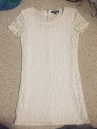 White lacy dress (very short, medium)  Kitchener, N2E 4A9