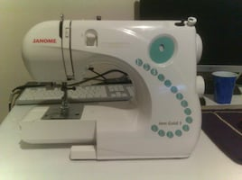Janome jem gold 3 compact sewing machine
