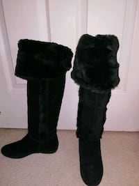 Aldo size 7 winter long boots