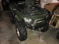 2005 lifted Kawasaki Brute Force 750 4X4 with brand new high end plow still in box and new never used 3500lbs winch. Ashton, 20905