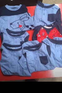 7 24months baby boy onesies/ $2 dollars each Bowie, 20715