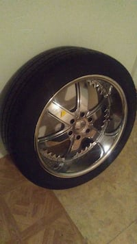 x4 Set Chrome Rims & Tires P285/45 R22 Vancouver, V5L