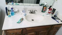 "Free 48"" Bathroom Sink/Vanity Top (Top only) McLean"