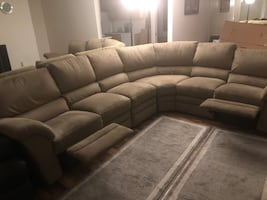 Sectional couch - cloth
