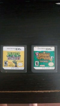 two Nintendo DS game cartridges Mississauga, L5V 2Z9
