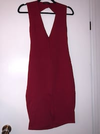 Red Backless Bodycon Dress - Size M Waterloo, N2J 3Y3