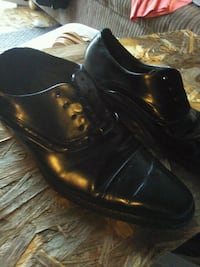 mens black shoes by stacy adams size 8.5 Visalia