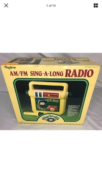 Vintage 1985 Cabbage Patch Radio Tested near Mint  Alexandria, 22310